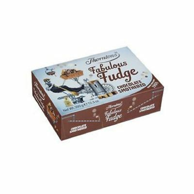Thorntons Chocolate Smothered Fudge Box (350g)