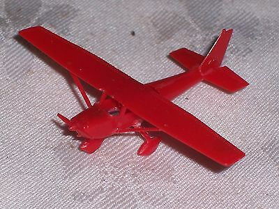 Vintage 1967 R & L Cereal Toy Red Cessna 172 Airport Series (constructed)
