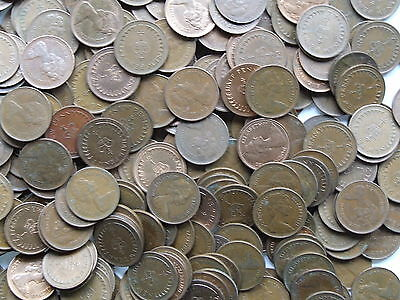 100 Decimal Halfpennies, 1971-83 - all in good condition - FREE POSTAGE (S872)