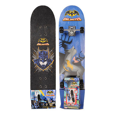 "NEW! Dc Comics Batman Unlimited 31 "" Skateboard With 9 Ply Maple Deck ODCC009"