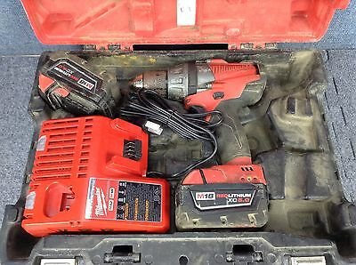 Milwaukee M18 FUEL 1/2 Inch (13mm) Cordless Drill/Driver Kit; 18V #2603-20