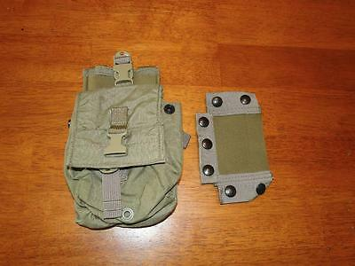 Eagle Industries Khaki MBITR Radio Pouch W/battery Compartment SOF CAG ODA