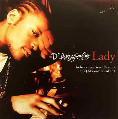 "D'ANGELO - Lady (12"") (VG-EX/VG)"