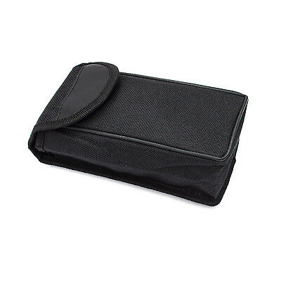 Soft carry bag / carry pouch for compact binoculars. 75mm(W)x145mm(H)x45mm(D)