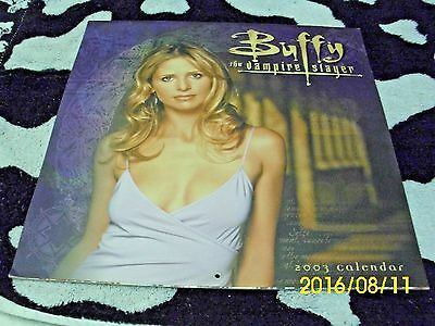 Buffy the Vampire Slayer 2003 Calender Collectible Condition Angel Spike Giles