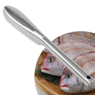Stainless steel Fish Scale Remover Scaler Scraper Cleaner Kitchen Tool Peeler