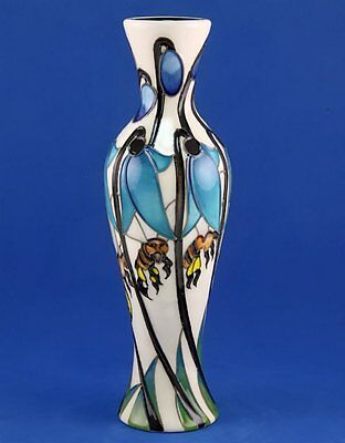 Moorcroft Honey Bee Vase, Shape 93/8, 1St Best Quality, Perfect Condition