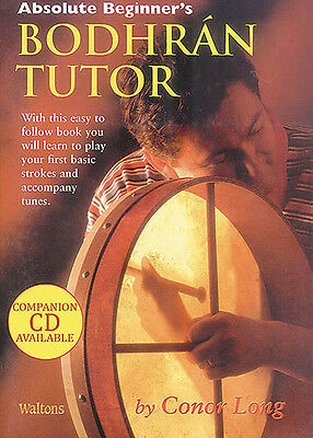 Absolute Beginner's Bodhran Tutor Irish Drum Lessons Learn How to Play Book NEW