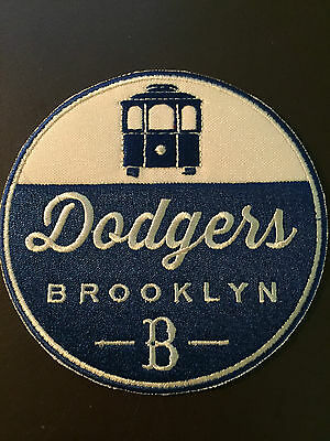 Brooklyn Dodgers baseball patch - incredible graphics