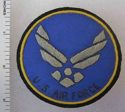 US AIR FORCE PATCH Custom Hand Sewn for VETERANS & COLLECTORS