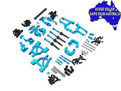 Aluminum Long-Span Suspension Arms & Knuckles Perf Upgrade Kit For Tamiya MF01X