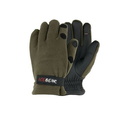 Icebehr Neopren-Fleece Handschuhe Anglerhandschuhe Winter Outdoor