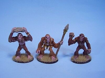 Clearance painted miniature Cavemen (3)