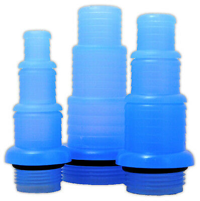 """Tmc Generic Hosetail Replacements 3/4"""" / 1"""" / 1 1/2"""" For 6/8/15/25/30/55W Uvc"""