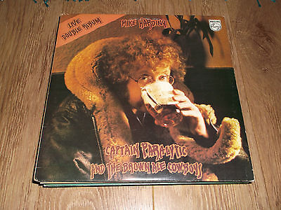 """Mike Harding """" Captain Paralytic And The Brown Ale Cowboys """" Double Lp  Ex/ex"""