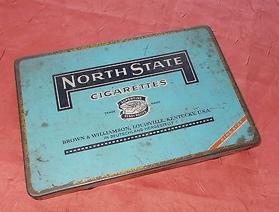 Blechdose North State Cigarettes Brown & Williamson Kentucky USA
