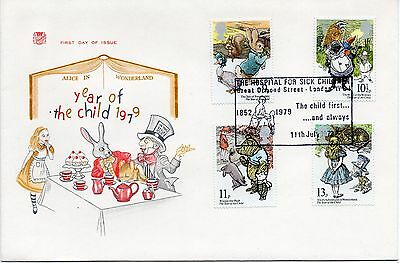 GB 1979 YEAR of CHILD Unaddressed First Day Cover GR ORMOND STREET PMK REF:A226