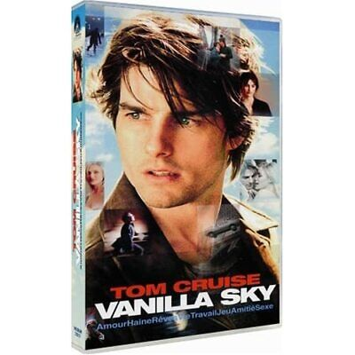 Vanilla Sky On DVD with Tom Cruise Drama Disc Only X24