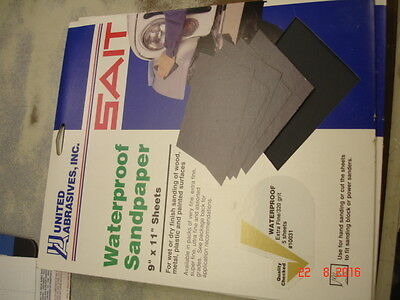 United Abrasives-SAIT 84201 AWC 180C Ultimate Performance 9 by 11 Paper Sheet