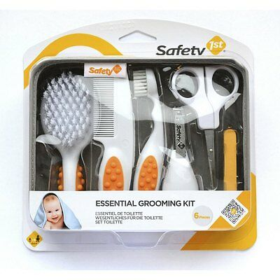 Safety 1st Baby Grooming Kit/Set  Brush/ Comb/Toothbrush/Nail Scissors/Clippers