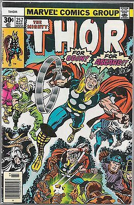 The Mighty Thor #257 (Vg) Bronze Age Marvel