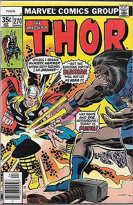 The Mighty Thor #270 (Fn) Bronze Age Marvel