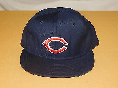 Vintage Baseball Hat Cap Mlb Cleveland Indians New Era Pro Model Wool New  Nos fd9fb23d109c
