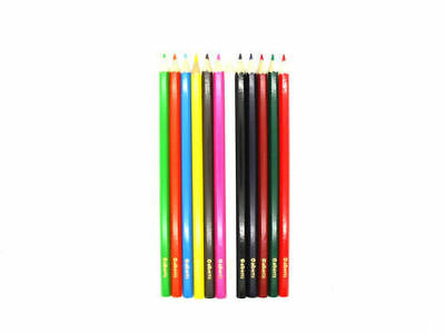 432 x Alberts Assorted Colours Colouring In Pencil Crayons (36 x 12pks)