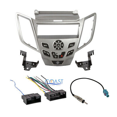 Metra Stereo Silver Dash Kit Interface Harness Antenna for 2010-Up Ford Fiesta