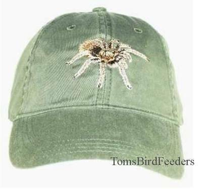 Tarantula Embroidered Cotton Cap NEW Arizona Blond