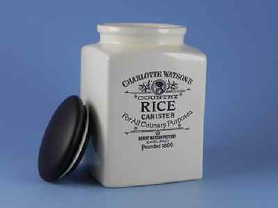 Charlotte Watson Square Large Rice Canister - 635