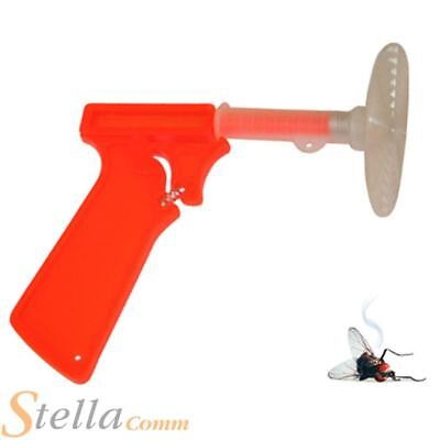 Fly Swatter Gun Spring Loaded Mosquito Insect Control Killer Swat