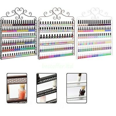 Nail Polish Rack/ Varnish Point Of Sale Shop Display Stand - Wall Mounted Holder