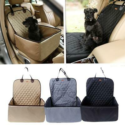 Pet Dog Cat Doggy Car Front Seat Mat Cover Cradle Scratch Protector Waterproof