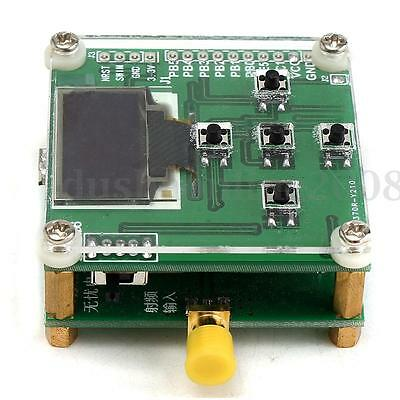 1~500Mhz OLED RF Power Meter -70~15dBm 1nW-2W Power Sofware Attenuation Value