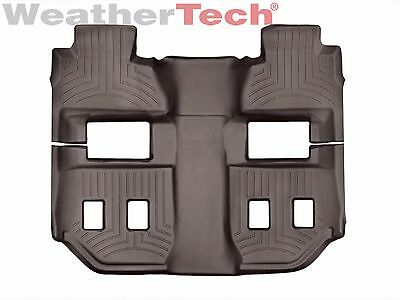 WeatherTech FloorLiner for Chevy Suburban - 2015-2016 - 2nd & 3rd Row - Cocoa