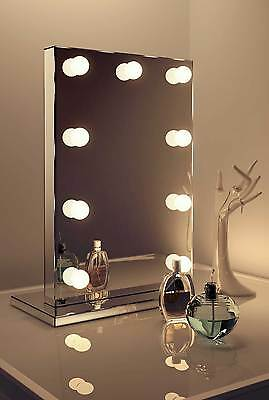 Diamond X Mirror Finish Hollywood Makeup Mirror Daylight Dimmable LED k219CW