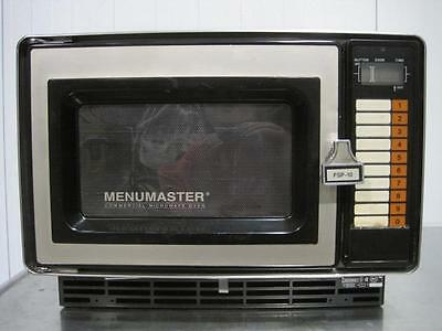 Menumaster Commercial Microwave Oven Mpa Fsp-10.a Fsp-10 Magnetron Rev A Rare