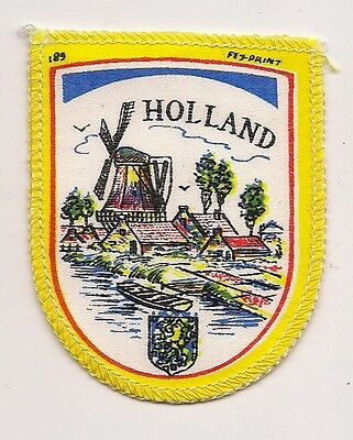 Souvenir Patch - Country Of Holland (Netherlands)