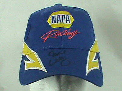 Michael Waltrip Toyota NAPA Racing #55 Signed Adjustable Hat NASCAR
