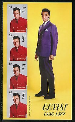 Nevis  Elvis Presley Imperforate Sheet I Mint Nh