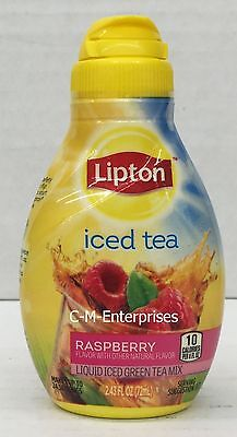 Lipton Tea & Honey Raspberry Liquid Iced Black Tea Mix 2.43 oz