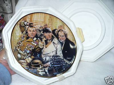 K1- Three Stooges 1993 Franklin Mint Plate Porcelain Limited Edition B45  #2436