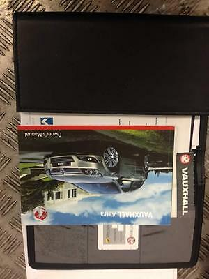 2009 1.7 Cdti Vauxhall Astra H Mk5 Z17Dth Owners Manual With Wallet