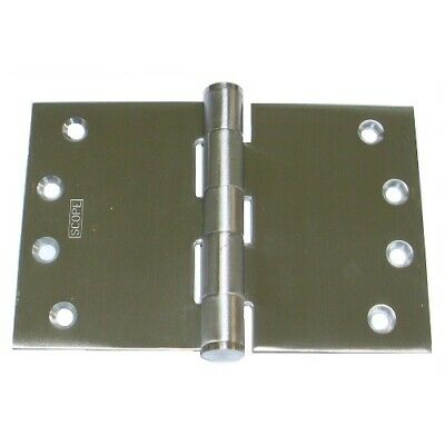 Scope DHW109FSS Wide Throw Door Hinge 100x225x3.5mm Fixed Pin Stainless Steel