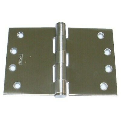 Scope DHW110FSS Wide Throw Door Hinge 100x250x3.5mm Fixed Pin Stainless Steel