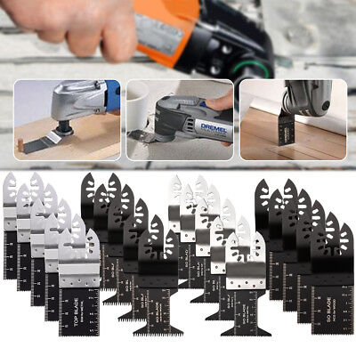 20PCS Oscillating Multi Tool Saw Blade For Fein Multimaster Dremel Makita Bosch