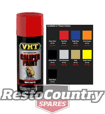 VHT High Temperature Spray Paint CALIPER +BRAKE REAL RED Drum Disc Rotor