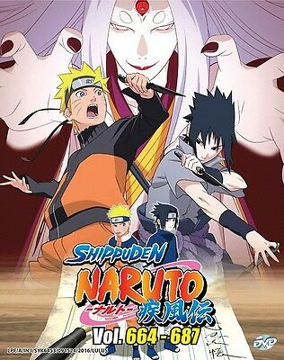NARUTO TV Box 23 | Episodes 664-687 | English Subs | 6 DVDs (GM0306)