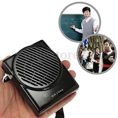 New AKER MR1506 Portable Microphone Waistband Voice Booster Amplifier Speaker